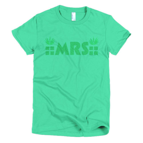 MRS Cannabis Ladies' tee colors