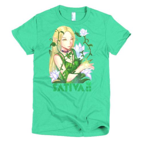 Sativa Ladies' t-shirt Colors