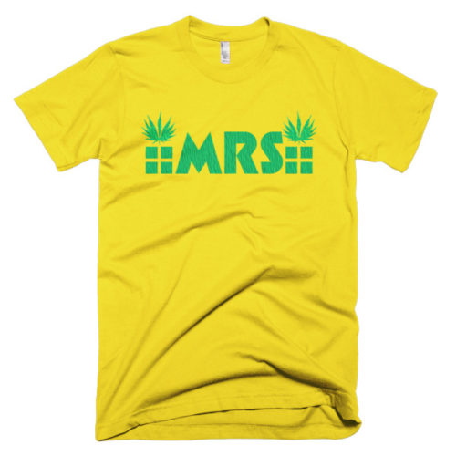 MRS Cannabis t-shirt colors