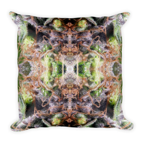 Herb Mirror Ganja Pillow