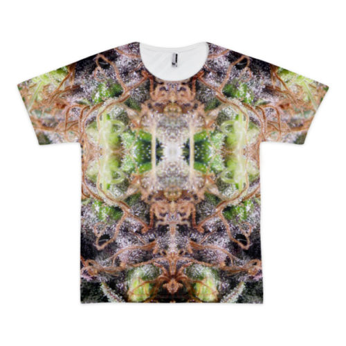 Herb Mirror Ganja Double-Sided t-shirt
