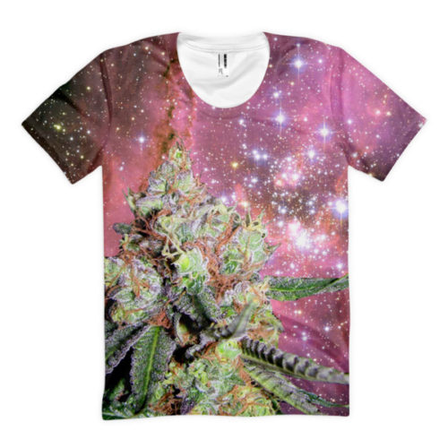 Nebula Maneater Weed Double-Sided Ladies' tee
