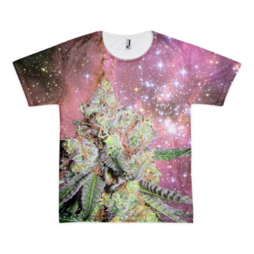 Nebula Maneater Weed Double-Sided t-shirt