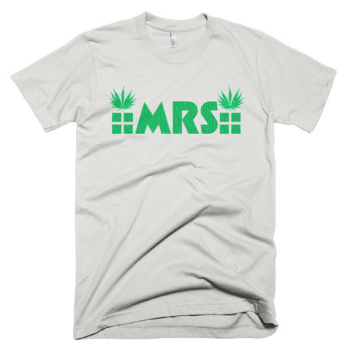 MRS Cannabis t-shirt black/white